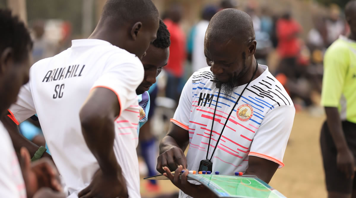 Hussein Mbalangu's opinion on friendly game against Arua Soccer Academy