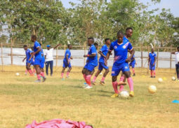 Arua Hill SC Leopolds during a training session