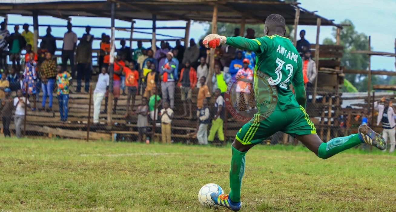 """""""He is one of the best I've seen currently."""" Mbalangu expresses admiration for goalkeeper Anyama."""