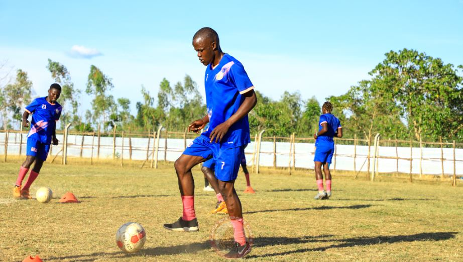 Sabir Edema finally returns to training but the forward will have to wait till next round