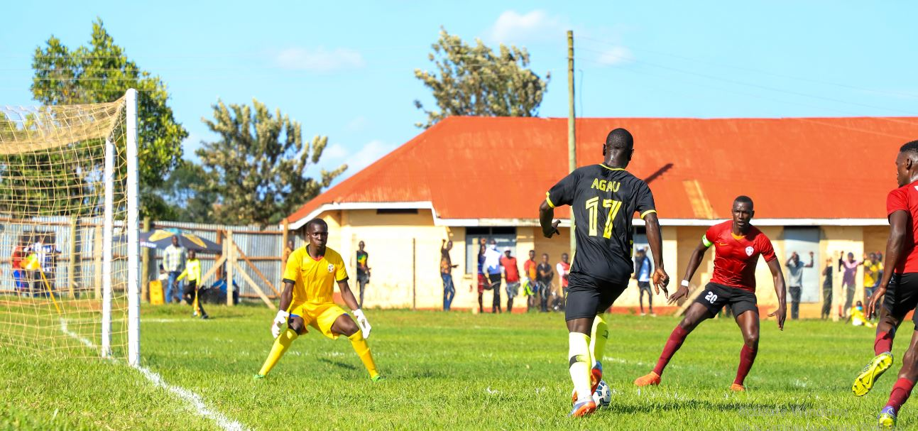 Maroons 0-0 Arua Hill: Mbalangu contented with results