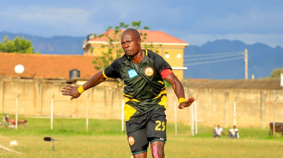 Okhuti ends away goal drought for Arua Hill in a one-all draw with Mbale Heroes