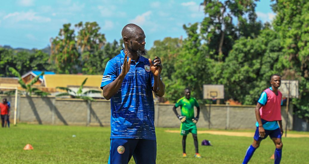 Hussein Mbalangu gives update on first training session held at IUIU play ground, promises Eid shall be celebrated later.