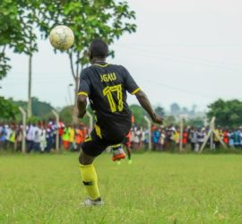 """""""We'll be unstoppable when he 'clicks',"""" Mbalangu asserts Arua Hill attacking prowess will improve when Agau finds form."""